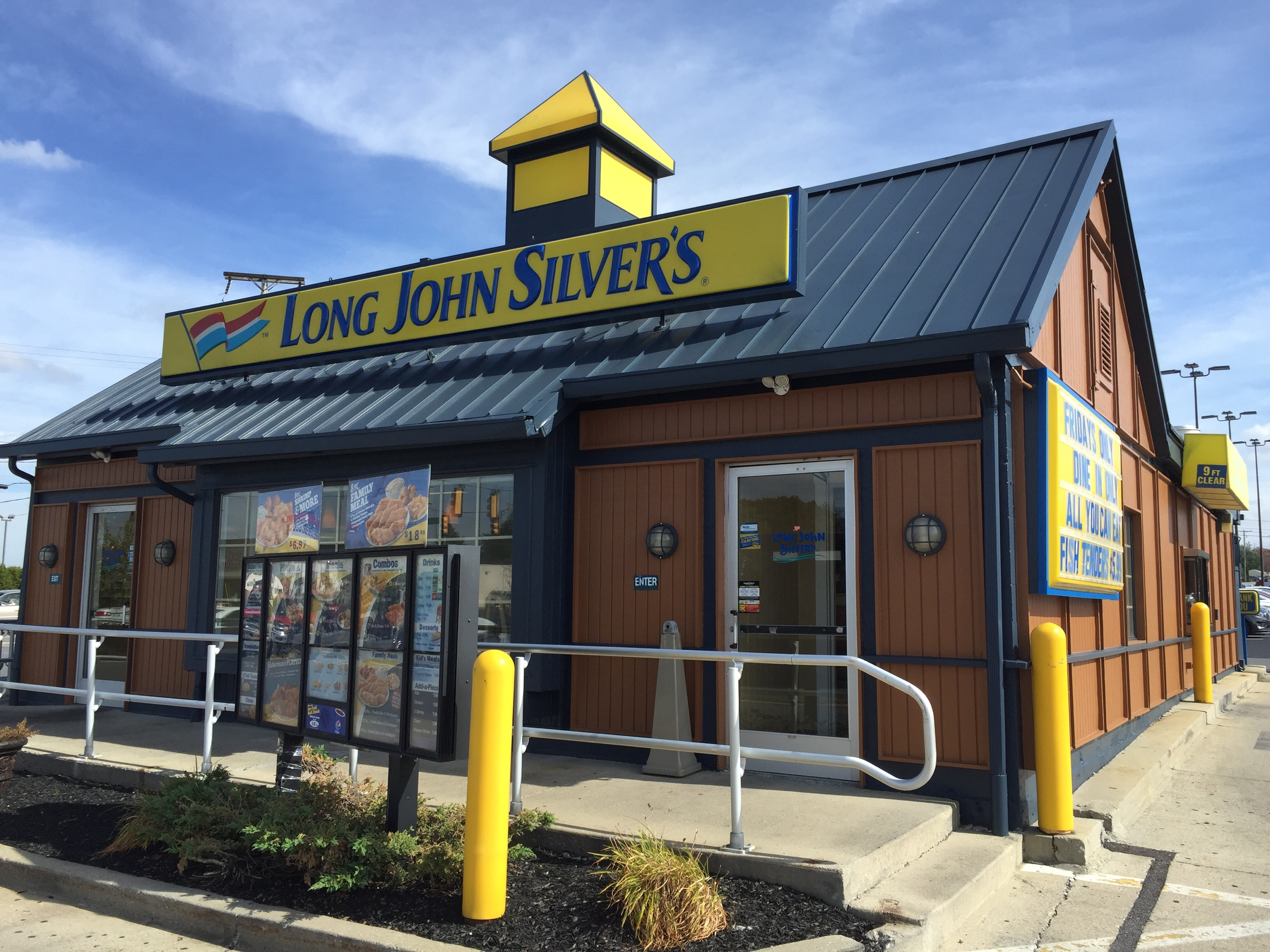 Long John Silver's is America's largest quick-service seafood chain with over units worldwide.