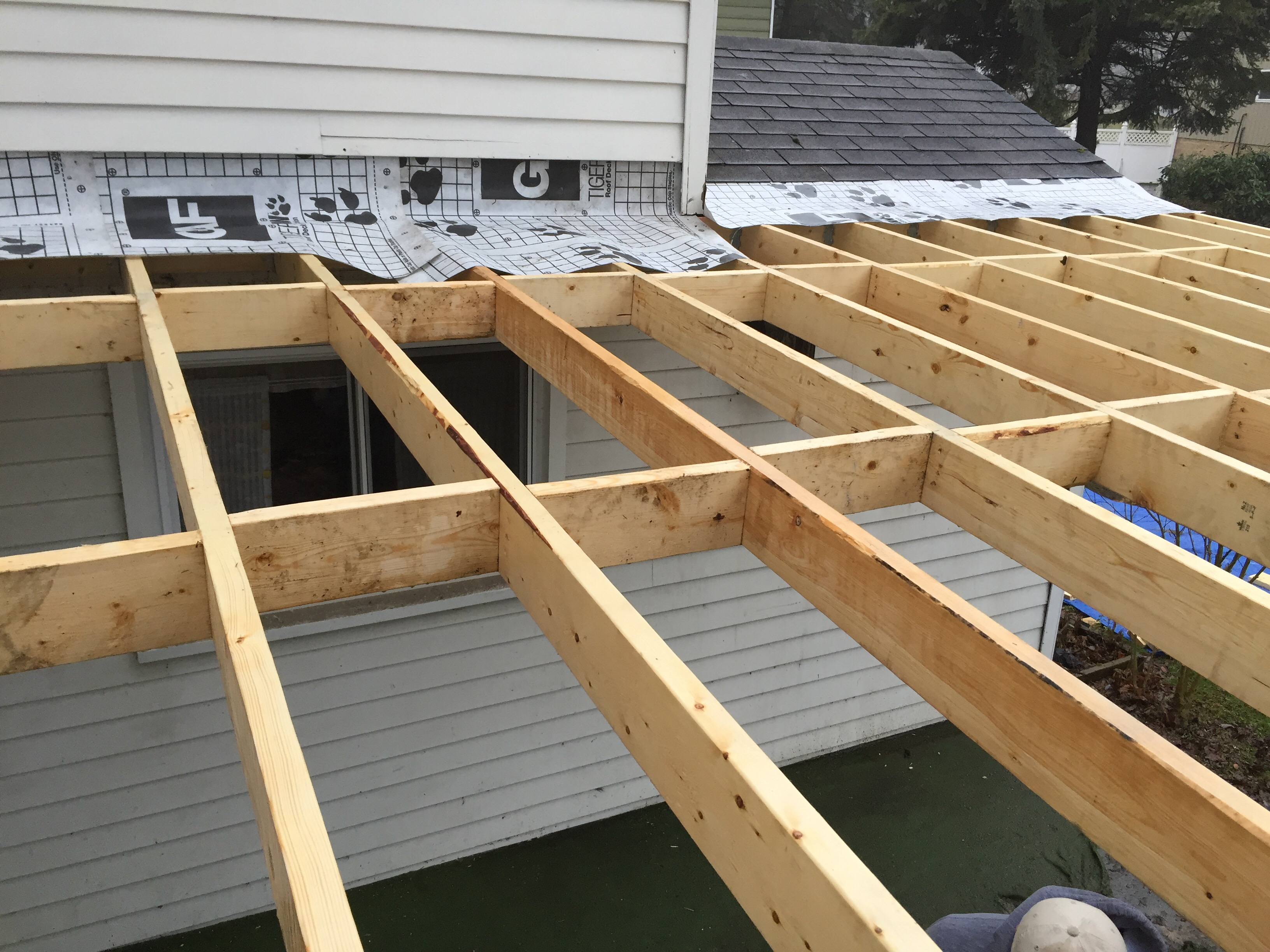 New Patio Roof Construction O 39 Donnell Contracting